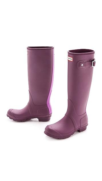 Hunter Boots Original Stripe Boots