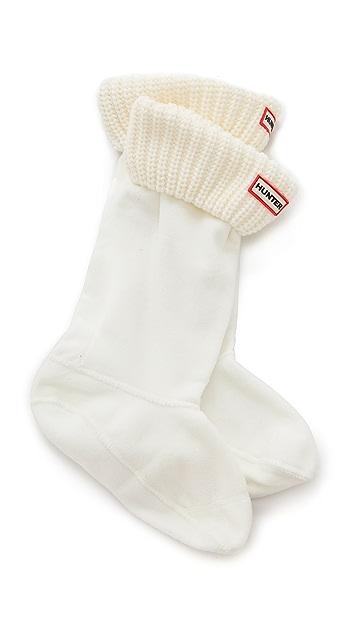 Hunter Boots Half Cardigan Boot Socks
