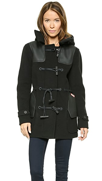 Hunter Boots Original Belted Duffle Coat