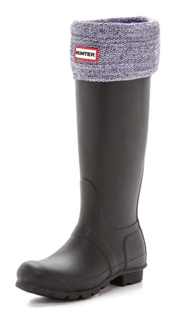 Hunter Boots Mouline Boot Socks