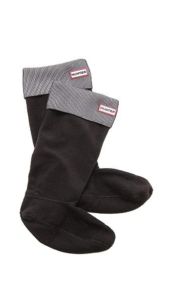 Hunter Boots Pleated Rib Boot Socks