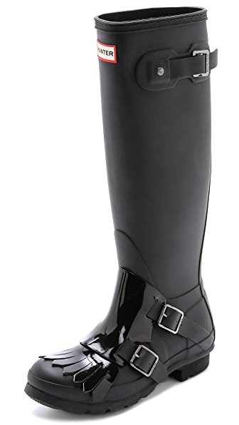 Hunter Boots Original Tall Monk Boots