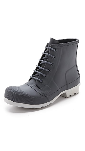 Hunter Boots Original Rubber Lace Up Boots