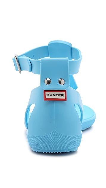 Hunter Boots Original T Bar Sandals