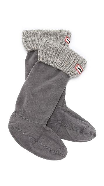 Hunter Boots Granite Fleck Boot Socks