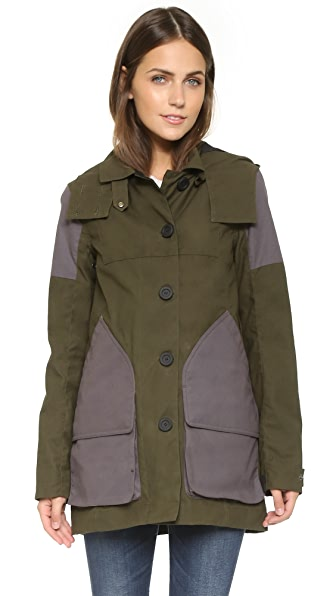 Hunter Boots Womens Original Wax Hunting Coat
