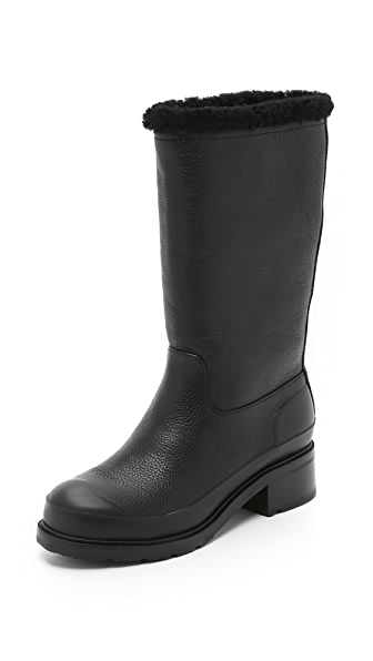 boots original shearling lined leather boots shopbop