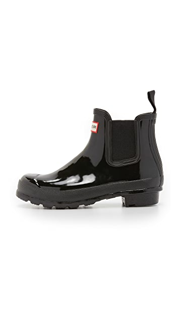 Hunter Boots Original Chelsea Gloss Boots