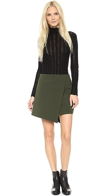 ICB Asymmetrical Hem Skirt