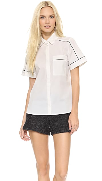 ICB Short Sleeve Button Down