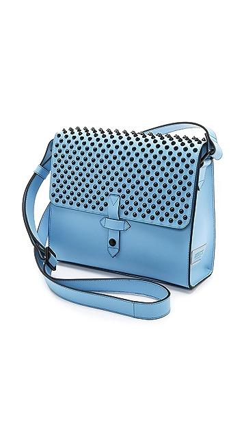 IIIBeCa by Joy Gryson Studded Duane Street Messenger Bag