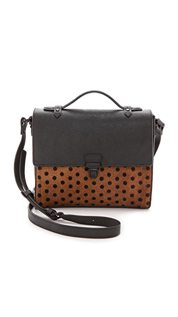 IIIBeCa by Joy Gryson Murray Street Haircalf Cross Body Bag