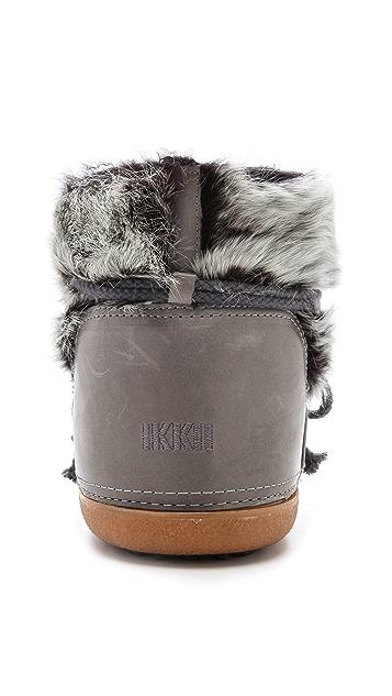 INUIKII Rabbit Low Boots