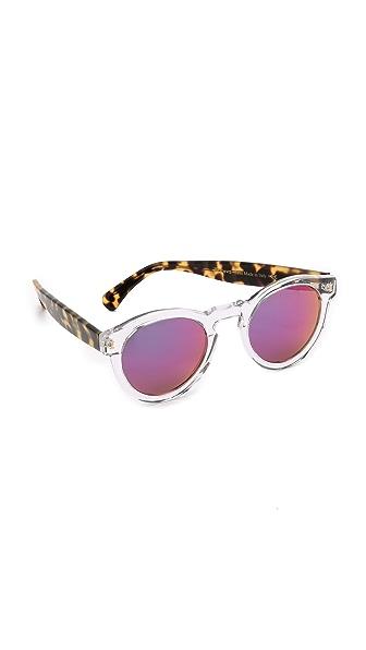 Illesteva Leonard Mirrored Sunglasses