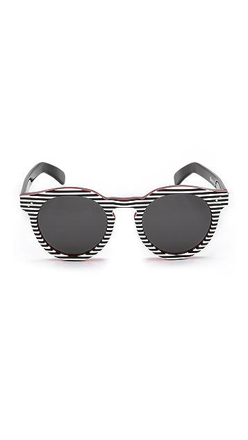 Illesteva Leonard II Stripes Sunglasses