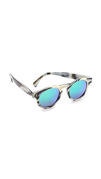 Illesteva Leonard Mirrored Sunglasses at Shopbop