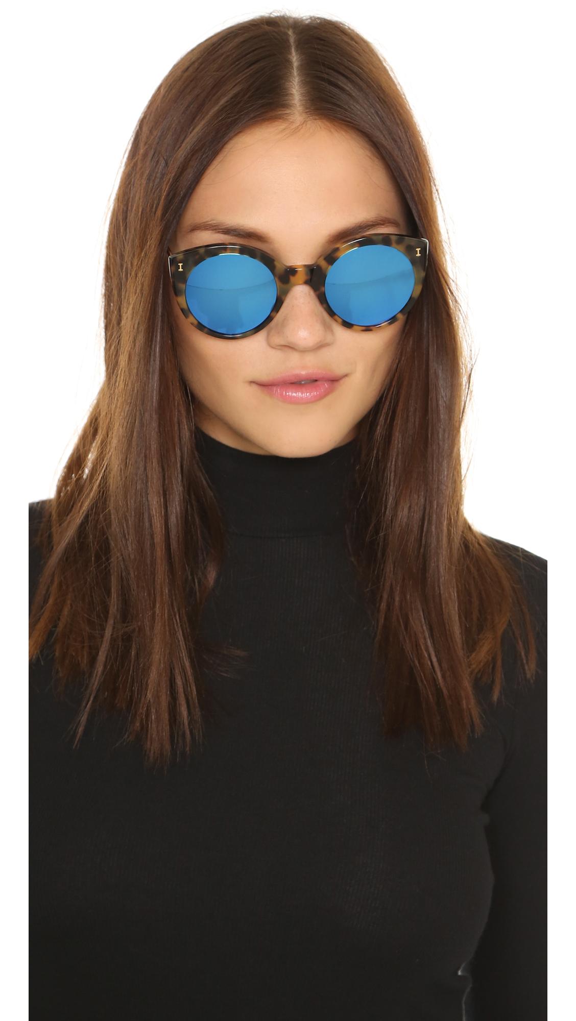 51641b89bb6 Illesteva Palm Beach Mirrored Sunglasses