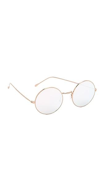 Illesteva Porto Cervo Mirrored Sunglasses