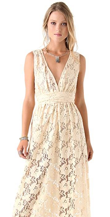 Imitation Molly Lace Maxi Dress