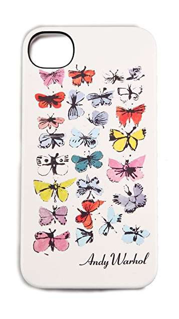 Incase Andy Warhol Butterflies iPhone Case