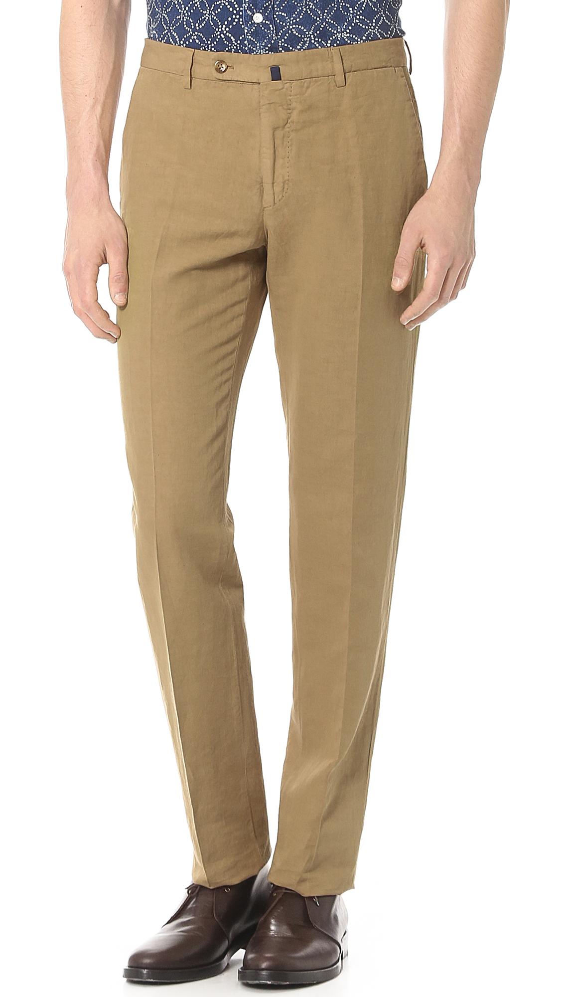Incotex Chinolino Trousers   EAST DANE f6a06e0e91