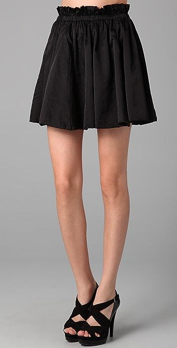 Indah Tuscana Cinch Waist Miniskirt