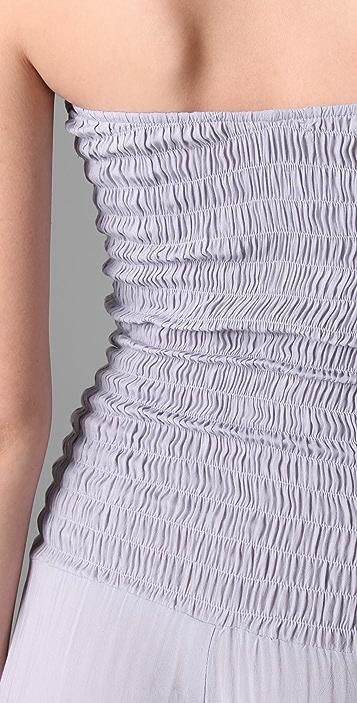 Indah Smocked Bodice Jumpsuit / Pants