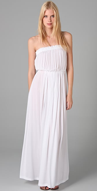 Indah Strapless Long Dress