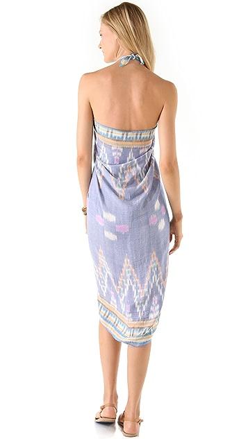 Indah Sahale Long Sarong Dress