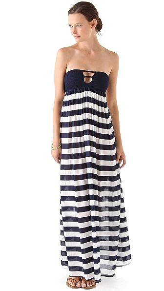 Indah Maxi Dress with Smocked Bandeau