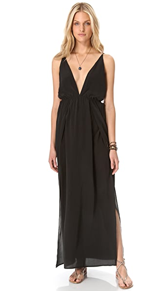 Indah River Split Maxi Dress