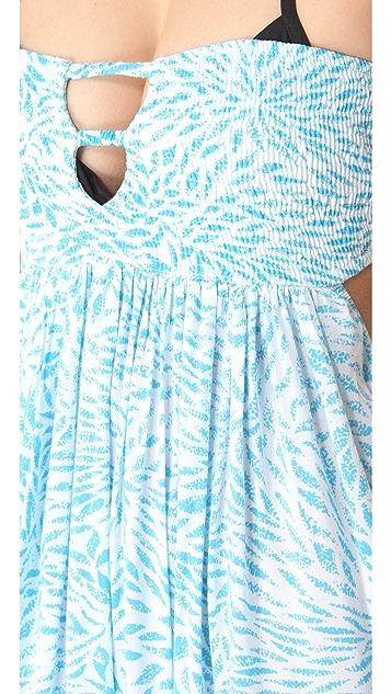 Indah Flamingo Cover Up Maxi Dress