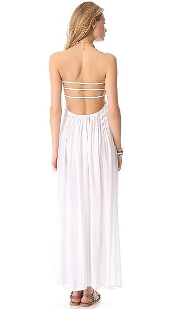 Indah Flamingo Maxi Dress
