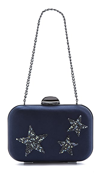 Inge Christopher Swarovski Crystal Clutch