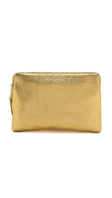 Inge Christopher Leather Clutch