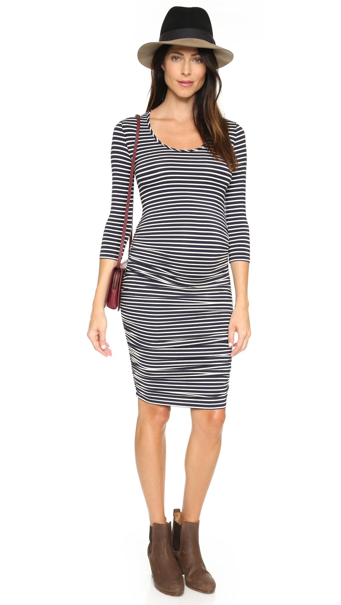 Ingrid isabel striped maternity dress shopbop ombrellifo Image collections