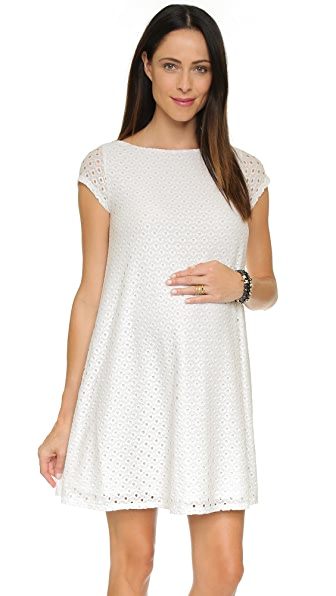 Ingrid & Isabel Lace Maternity Swing Dress at Shopbop