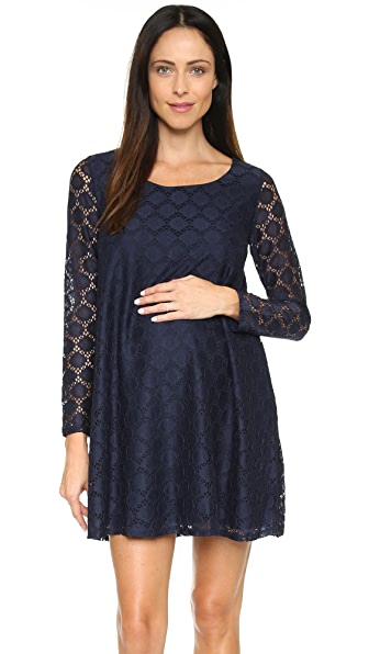 Ingrid & Isabel Dot Lace Maternity Dress at Shopbop