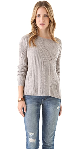 Inhabit Cables & Links Crewneck Sweater