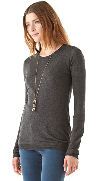 Inhabit Cotton Sport Crewneck Top