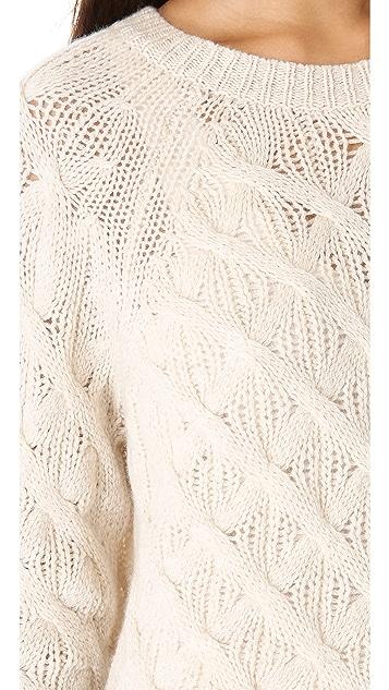 Inhabit Cashmere Chainette Sweater