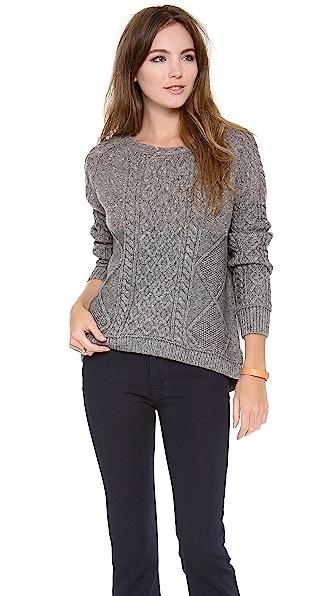 Inhabit Hazel Brown for Inhabit Sweater