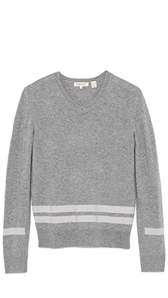 Inhabit Cashmere V Neck Sweater