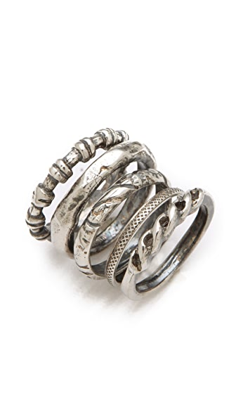 Iosselliani Set of 5 Rings