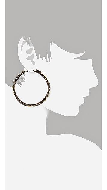 Iosselliani Hoop Earrings