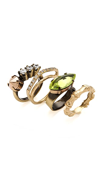 Iosselliani Set of 4 Stacking Rings