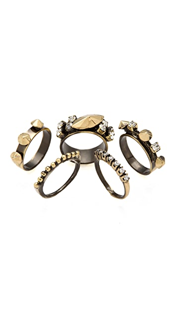 Iosselliani Set of 5 Stacking Rings