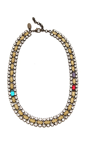 Iosselliani Bronze Stones Necklace
