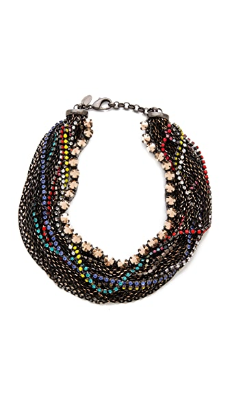 Iosselliani Twisted Multiwires Necklace
