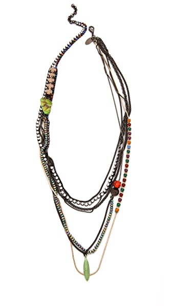 Iosselliani Jasper Multiwires Necklace